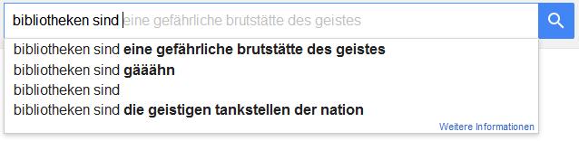 bibliotheks-google-autovervollständigung