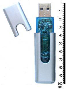 So klein, so harmlos gibt sich die Verlagsgeißel USB-Stick